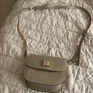 Never used tan Dooney & Bourke Crossbody Bag!